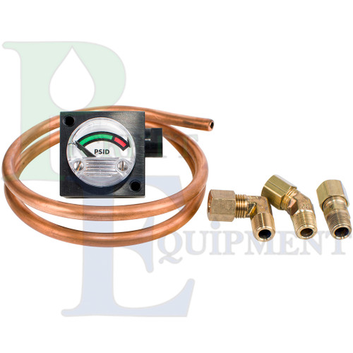Differential Pressure Gauge Kit (fits VF-61 and VF-61E)
