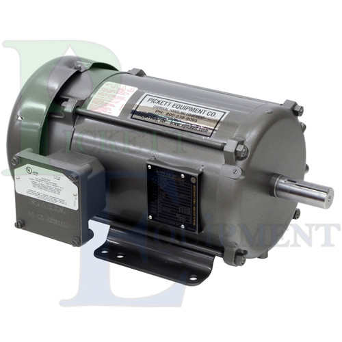 3HP 1PH 115/230VAC Baldor Class I, Group D, Division 1 explosion-proof electric motor