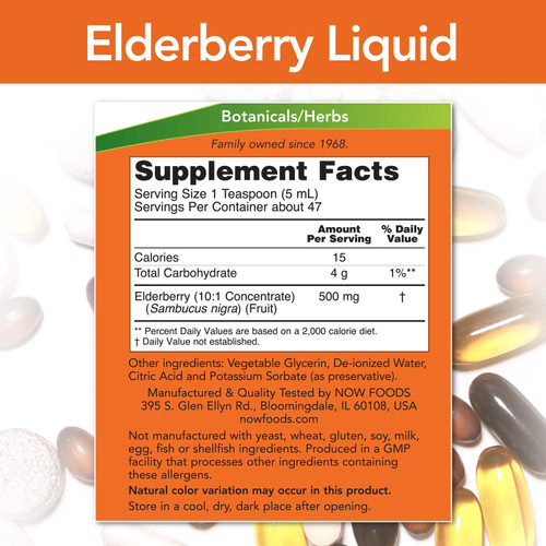 Elderberry Liquid 500mg