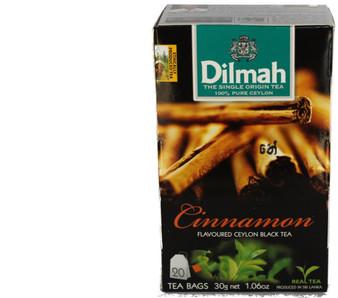 Dilmah Cinnamon Flavoured Black tea - 20 bags