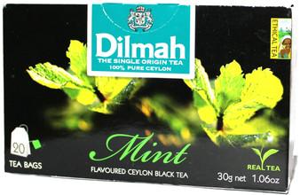 Dilmah Mint Flavoured black Tea 20 Bags