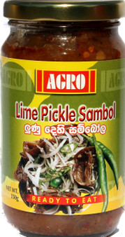 Agro Lime Pickle Sambol 350g