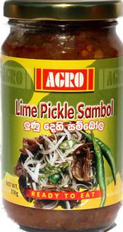 Agro Lime Pickle Sambol 350g