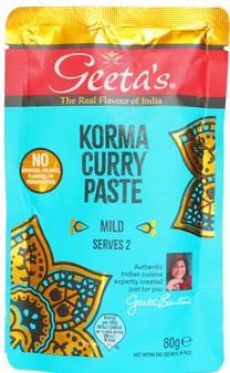Geeta's Korma Curry Paste  80g