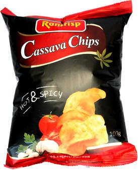 Rancrisp Hot & Spicy Cassava Chips 100g