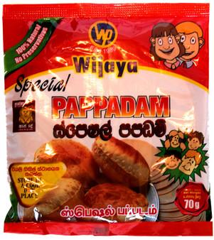Wijaya Special Pappadam 70g