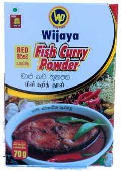 Wijaya  Red Fish Curry Powder 70g