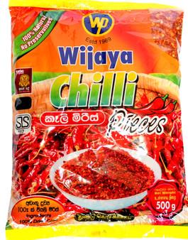 Wijaya  Chili Pieces 500g