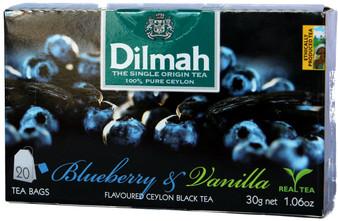 Dilmah Blueberry & Vanilla Flavoured  Black Tea 20bags