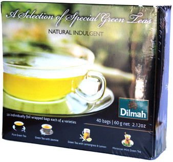 Dilmah A selection of Special Green teas 40 bags