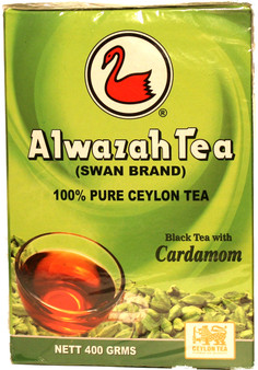 Alwazah Black Tea With Cardamom 400g