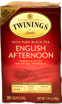 Twinings English Afternoon Black 20 Tea Bags