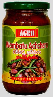 Agro Wambatu Achcharu (Brninjal Pickle) 350g