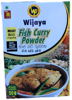 Wijaya Milky Fish Curry Powder 50g