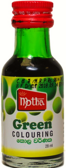 Motha Green Food Colouring 28ml