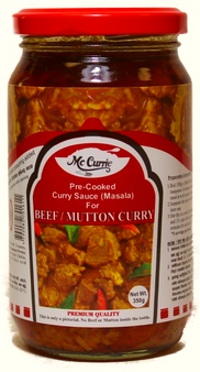 MC Currie Curry Sauce For Beef/ Mutton Curry 350g