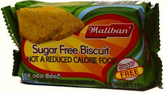 Maliban Sugar Free Biscuit 110g
