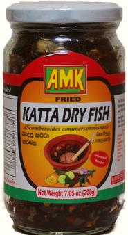 AMK Fried Katta Dry Fish  200g