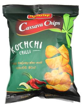 Rancrisp Kochchi Chilli Casava Chips 100g