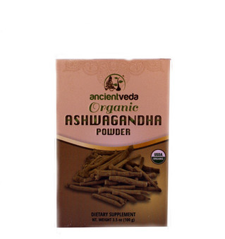 Ancient Organic Ashwagandha Powder 100g