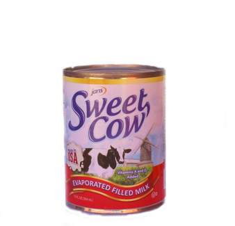 Jans Sweet Cow Evaporated Filled Milk