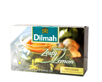 Dilmah Naturally Zesty Lemon 20 Tea bags