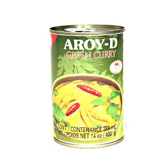 Aroy-D Green Curry  Soup 400g