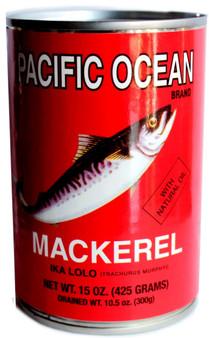 Pacific Ocean Jak Makerel  Net wt 300g