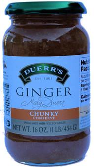 Duerr's Ginger preserve 454g