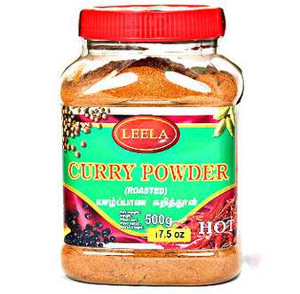 Leela Roasted Curry Powder Hot 500g