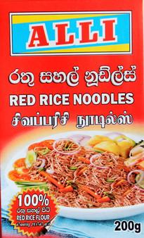 Alli Red Rice Noodles 200g