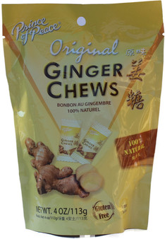 Prince Of Peace Ginger Chews Net wt 4 OZ