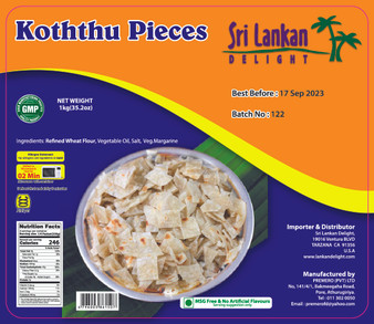 SLD Koththu Pieces 1kg- IN STORE PICK UP ONLY