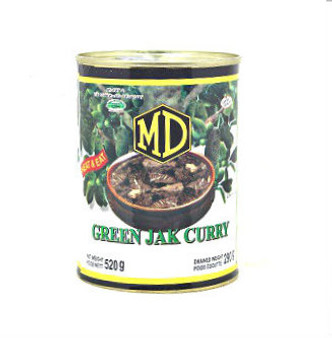 MD Green Jak Curry ( Polos Curry) 520g