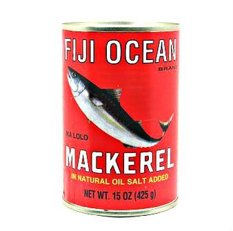 Fiji Ocean Jak Mackerel 425g