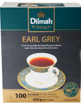 Dilmah Earl grey 100 Tea Bags