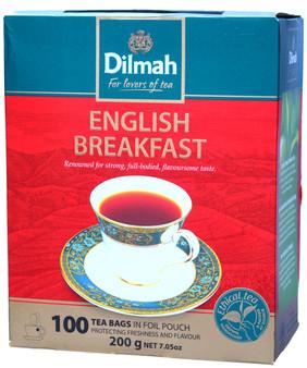 Dilmah English Breakfast 100 Tea Bags