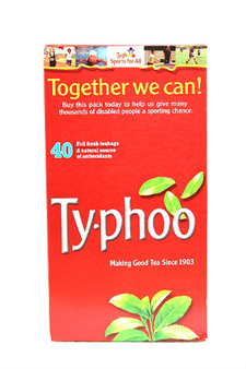 Typhoo 40 Tea Bags 125g