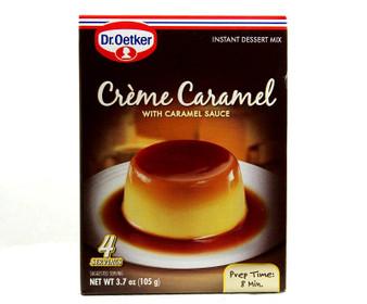 Creme Caramel Dessert mix 3.7 OZ