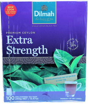 Dilmah Extra Strength 100 Tea bags