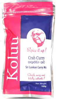 Koluu Crab curry Mix 100g