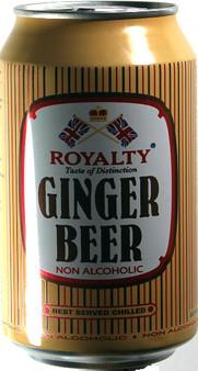 Royalty Ginger Beer 330 ml