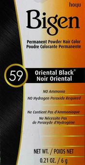Bigen Hair Color 59 Orental Black