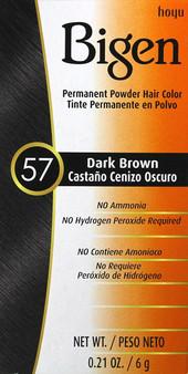 Bigen 57 Dark Brown Hair color