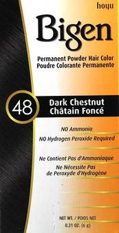 Bigen 48 Dark Chestnut Color