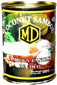 MD Coconut Sambol Can 500g