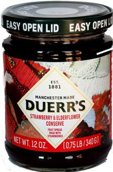 Duerr's Strawberry & Elderflour Conserve 340g