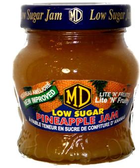 MD Low Sugar Pineapple Jam 330g