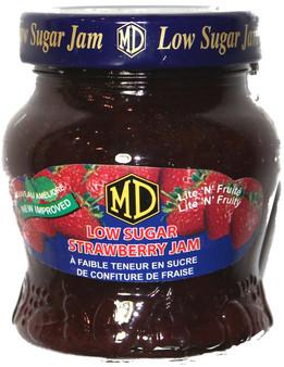 MD Low Sugar Strawberry Jam 330g