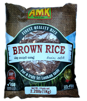 AMK Brown Rice 1kg
